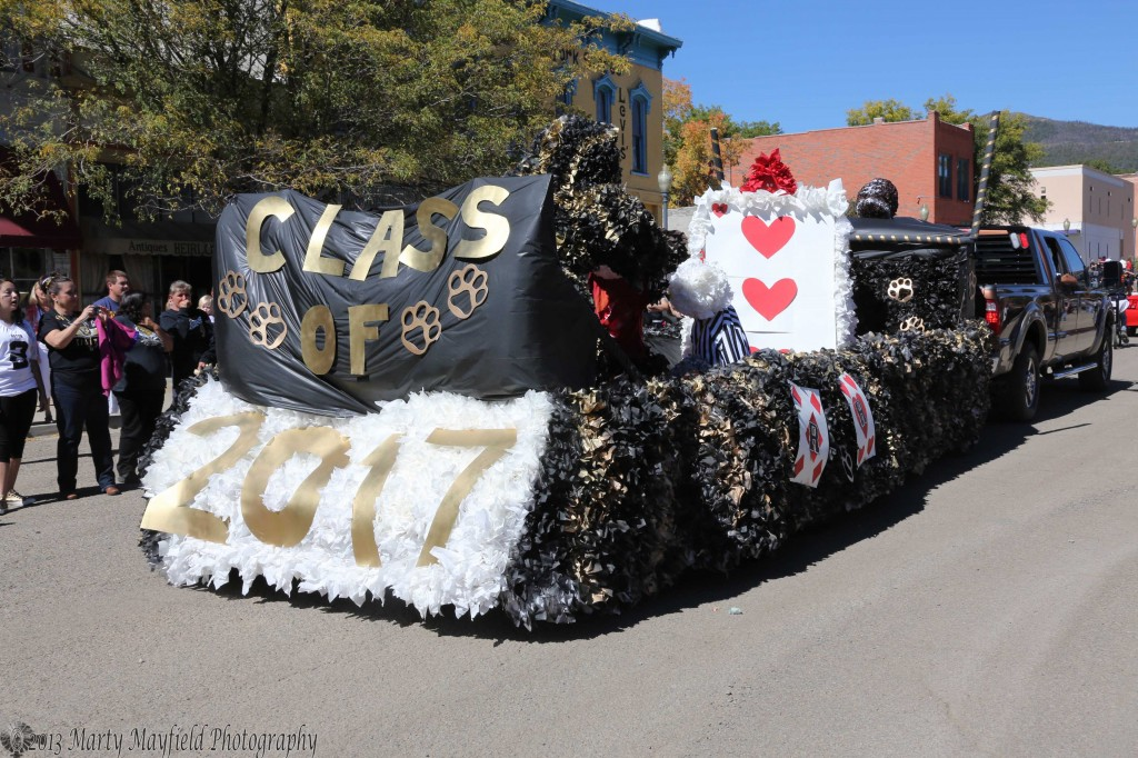 The RHS Sophomore Float