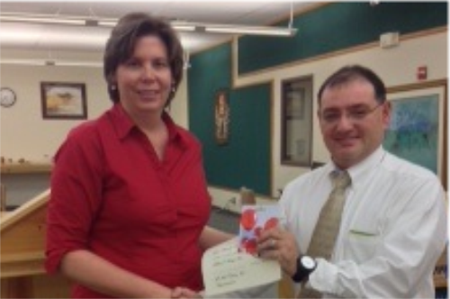 Myra Baird- Secondary Teacher of the Month for October