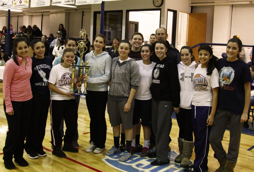"""Photos: (by Matt """"Moose"""" Young The Tournament Champion Lady Miners from Trinidad"""