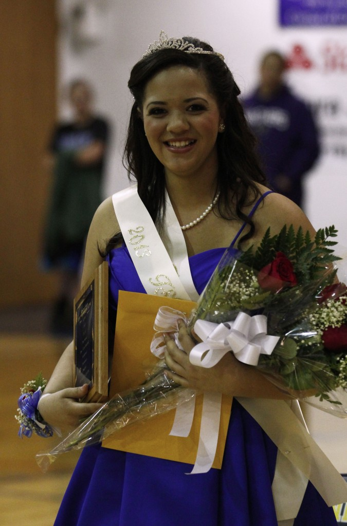 """Photos: (by Matt """"Moose"""" Young Trinidad's Reyna Lujan was named tournament Queen"""