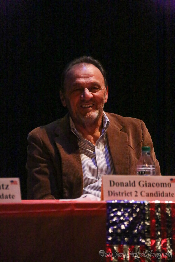 Donald Giacomo District 2 commission candidate