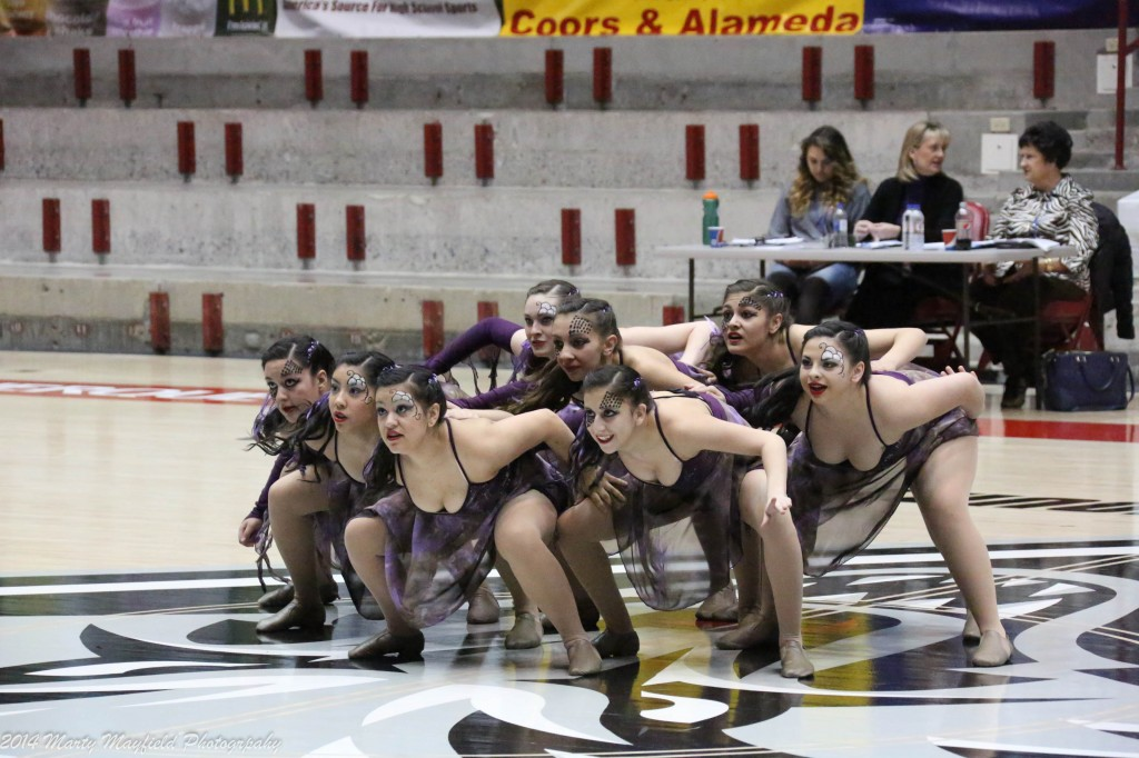 It was an almost flawless routine by the T-Cats Saturday morning in the Pit. The girls had some of the stiffest competition they ever faced with St Mikes, Sandia Prep and Hope Christian placing 1,2,3 respectively.