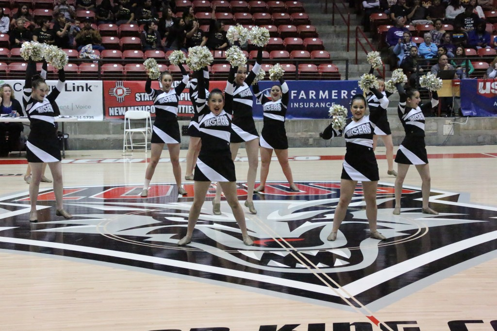 TigerCats dance team perform Friday at the State Spirit Competition