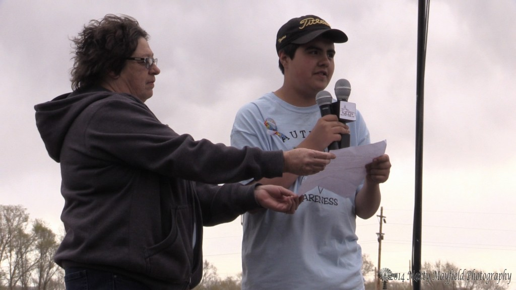 Johnny Gentry, a Raton High Student with Autism, is the driving force behind this Autism Awareness Walk. He hopes to make this an annual event and for it to grow and grow the understanding of Autism.