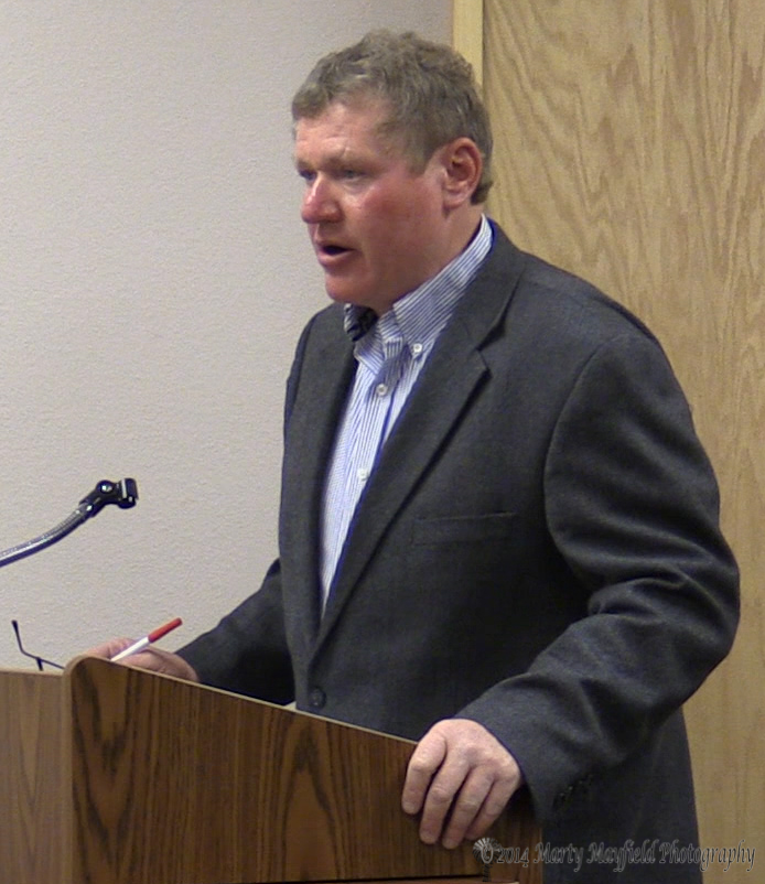 Scott Berry was named the new Raton City Manager and will take the reins of the city on September 1, 2104