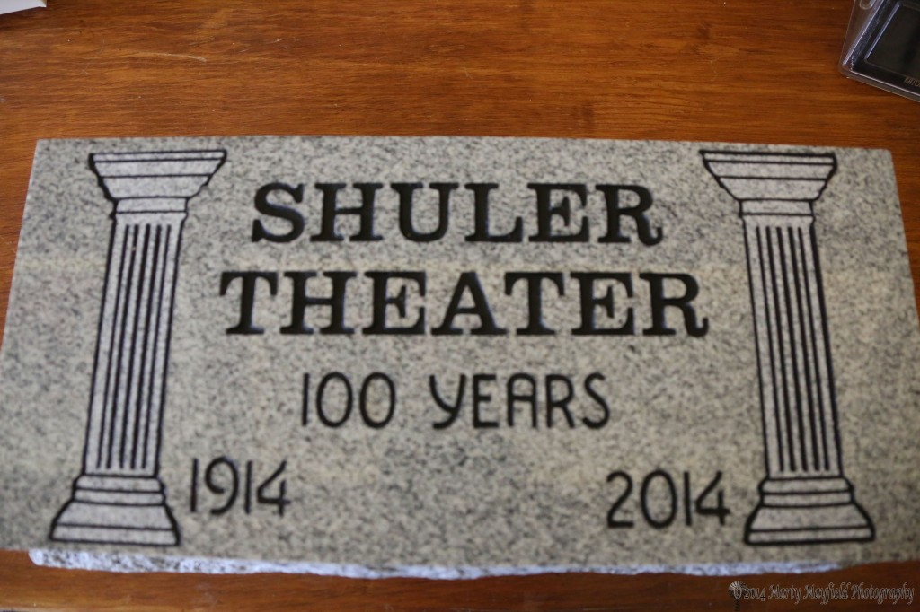 The 100th Shuler Theater Cornerstone
