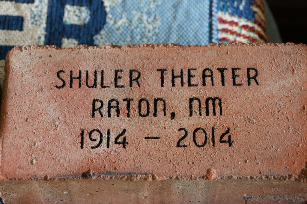 A brick made available for silent auction