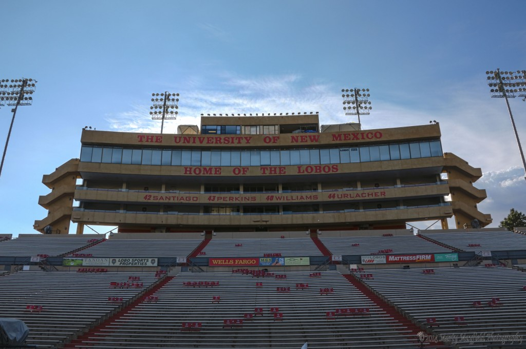 Lobo Stadium in Albuquerque