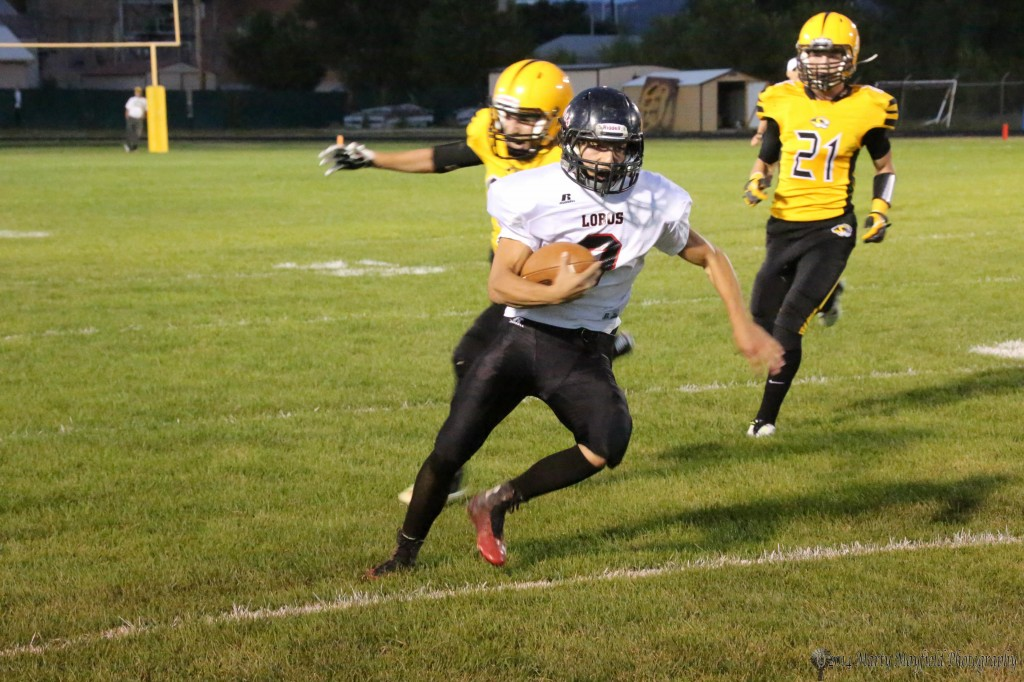 As was the case quite often Friday night Tigers were chasing Dominic Montano around the field