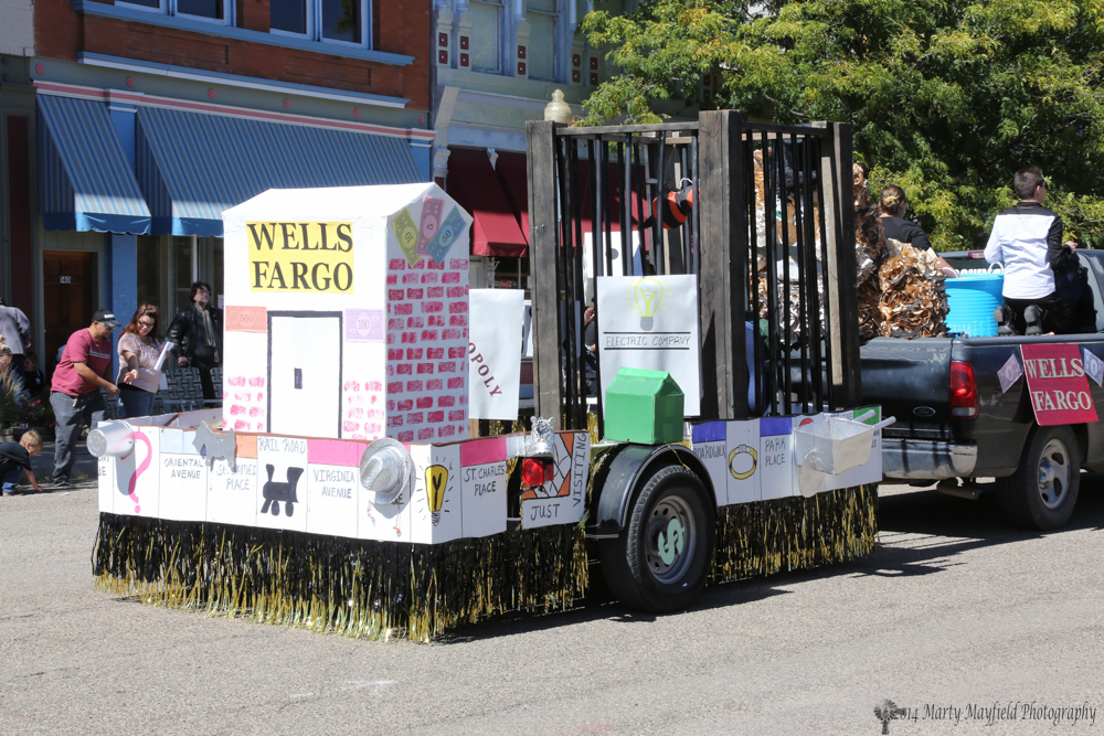 The Wells Fargo float
