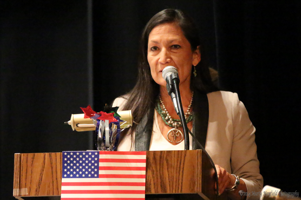 Debra Haaland, Democrat for Lt Governor