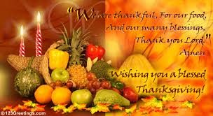 Happy Blessed Thanksgiving