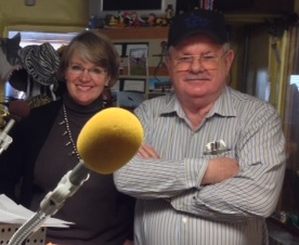 Gretchen Sporleder Orr, Publisher/Editor of Huerfano World with Alan Kenny, Assistant Manager/Sales Manager of Huerfano World  Las Animas/Colfax Counties and KRTN Sales Manager
