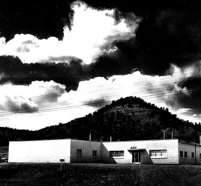 ARF Facility on Gardiner Road, circa 1955, soon after completion of the third addition