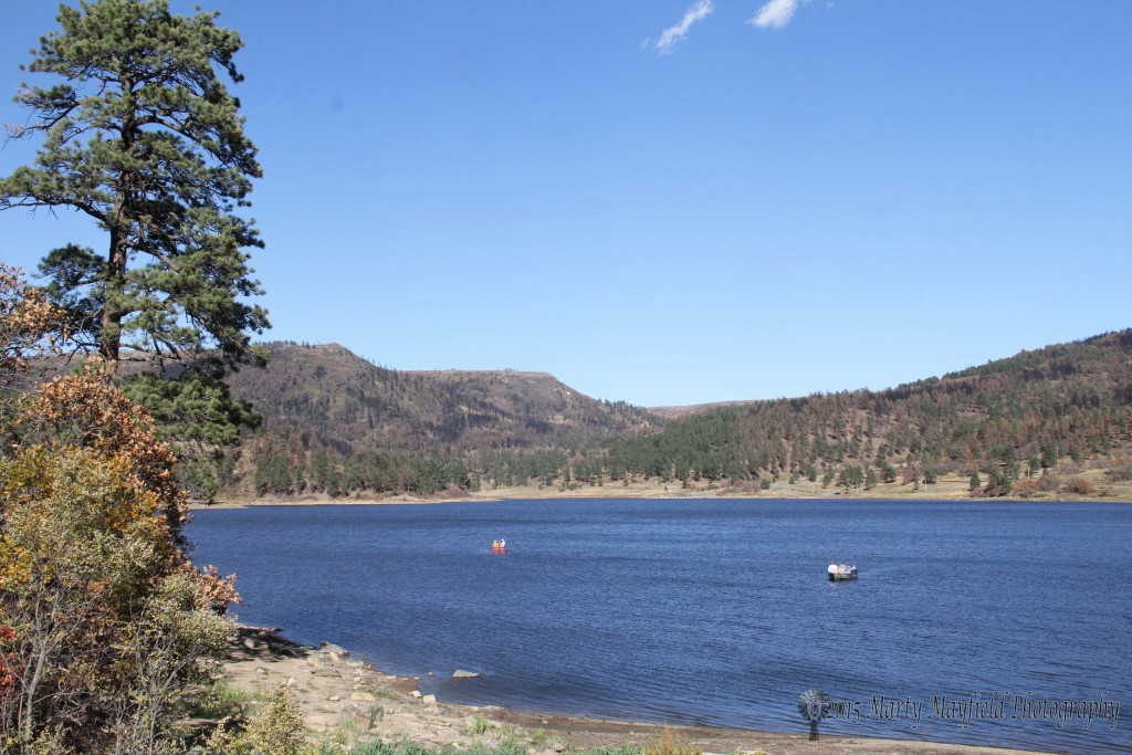 Boaters and fishing return to Lake Maloya after the 2011 Track Fire