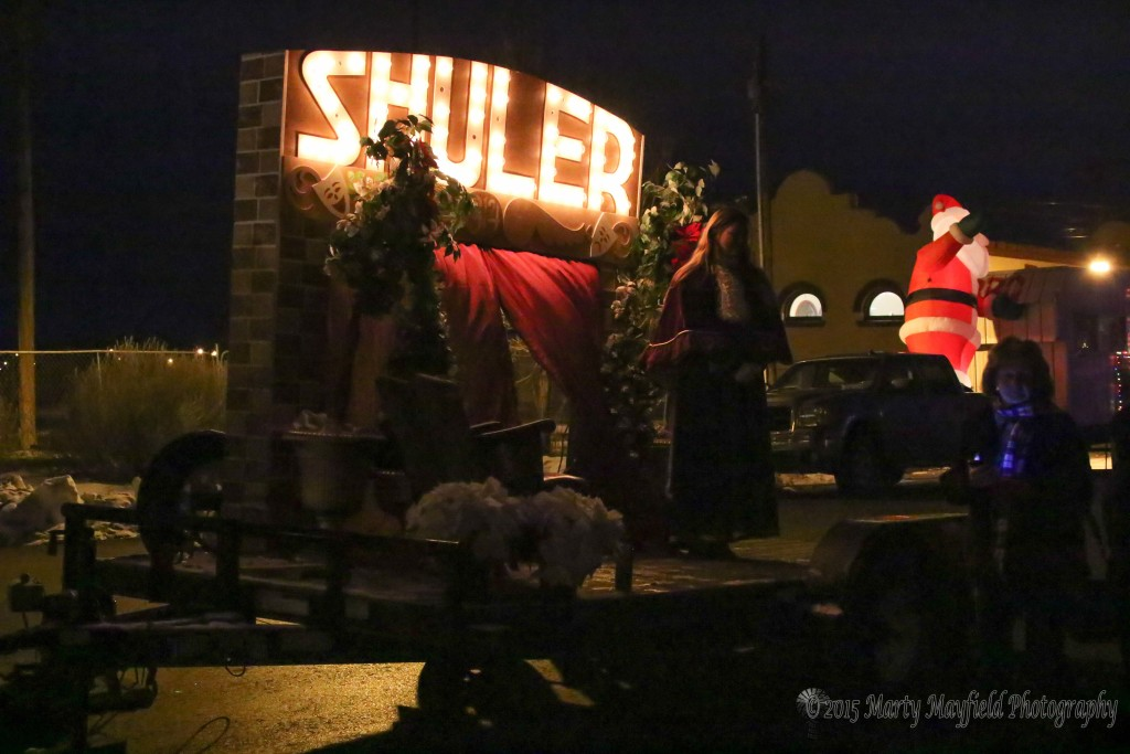 The Shuler Theater Electric Light Float presented by Santa Fe Trail School For The Performing Arts