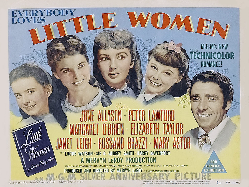Little Women 1949 Classic Night At The Movies Krtn