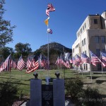 The Isles of Flags at the Colfax County Building