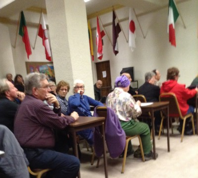 """A crowd of over 100 concerned citizens met for a special meeting to help """"Stop Vandalism Now!"""""""