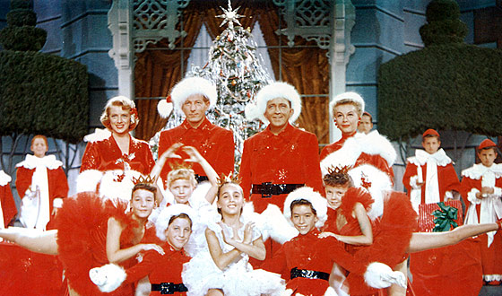 The Cast Of White Christmas.White Christmas 1954 Classic Night At The Movies Krtn