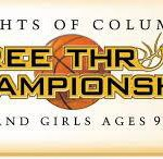 knights of columbus free throw