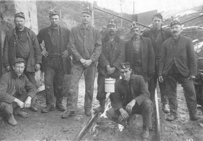 Sugarite Miners (Courtesy of Arthur Johnson Memorial Library)