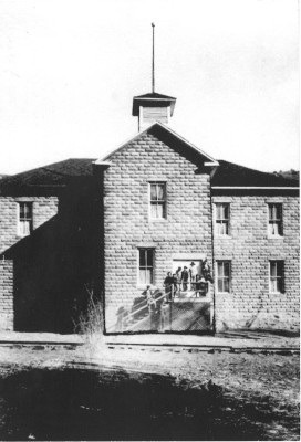 Sugarite School (Courtesy of Joe Bertola Family)