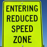 reduced speed ZONE