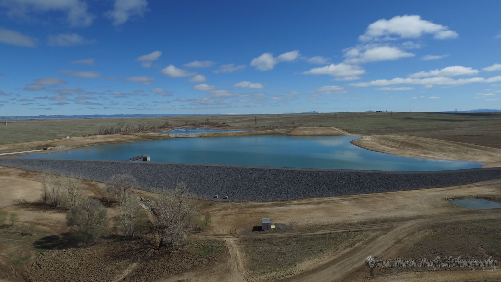 The Springer Reservoir will secure the water needs of Springer for many years to come.