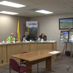 RFES Chief Jim Matthews told commissioners about the top 10 dangerous buildings in Raton Tuesday evening