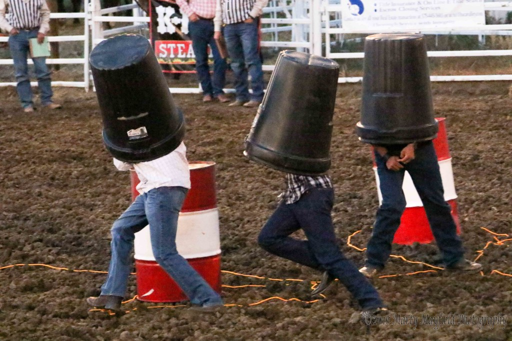 They call it red-neck barrel racing