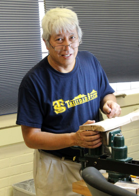 Trinidad State Gunsmithing graduate Gary Yee is also an author and historian.