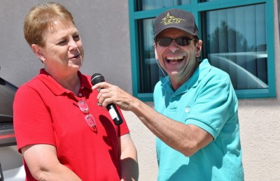 Bill Donati, KRTN General Manager, interviews Donna Klassen, Vice President at FNB New Mexico (Raton)