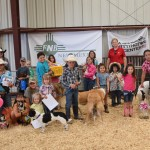 All of the kids were winners in the Youth Pet Show.