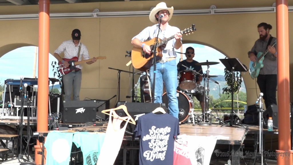 The Ben Marshall Band took to the stage at the 2016 Gate City Music Festival Saturday afternoon