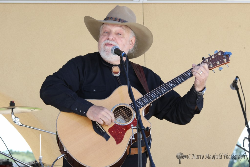 Gary Paul from Santa Fe performed Saturday morning at the 2016 Gate City Music Festival