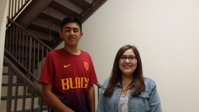Jose Archuleta and Makayla San Roman were selected as Raton High School Representatives to the 2017 HOBY Leadership State Seminar.