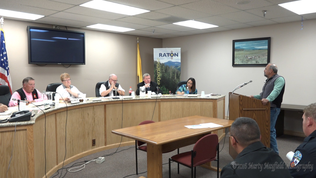 Roy Fernandez came before the commission to talk about the changes in the personal ordinance that the commission introduced Tuesday evening.