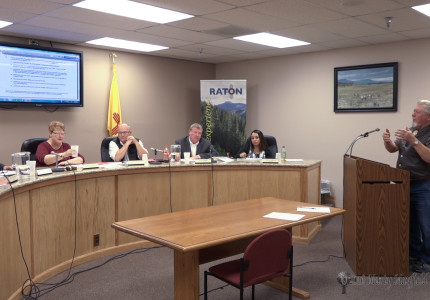 Dennis Snyder spoke to commissioners concerning the responsibilities of land owners and access  based on his work with the Santa Fe Trail associations.