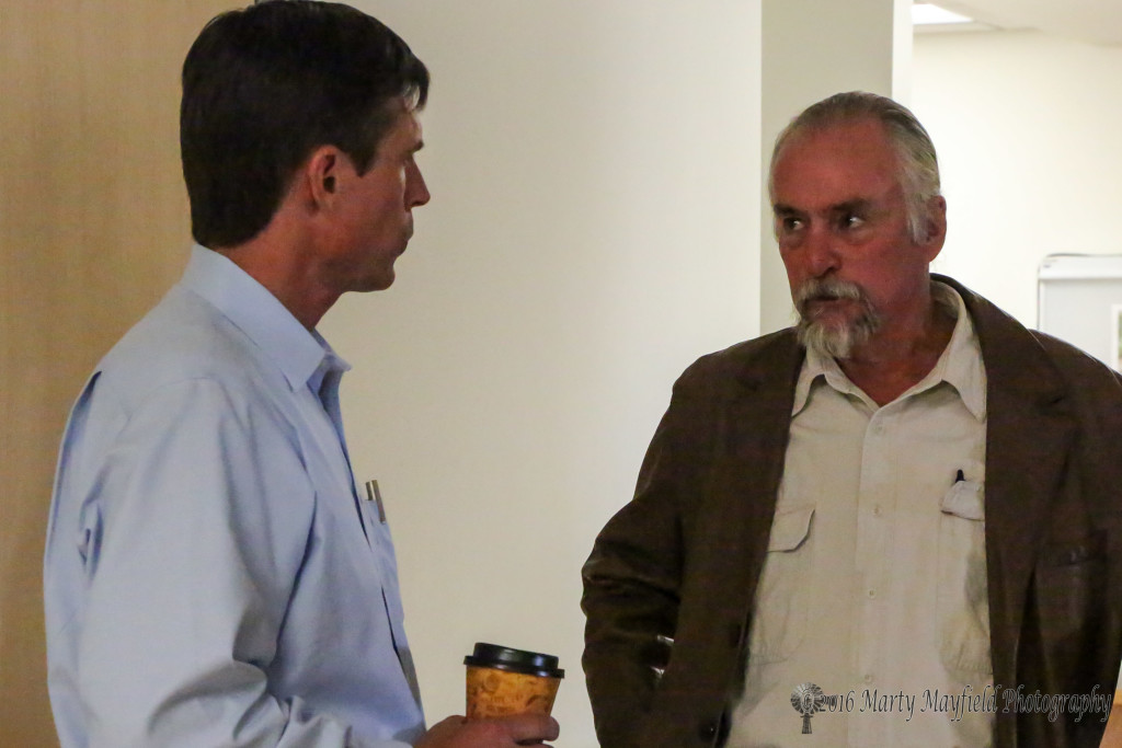 Senator Heinrich spoke with Dr Don Belknap Thursday afternoon to hear some of the issues that doctors deal with in a rural environment.