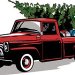 christmas-tree-in-truck-vintage-clipart