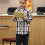 """Joshua Vargas said, """"he was just a 10-year old boy in the right place at the right time."""""""