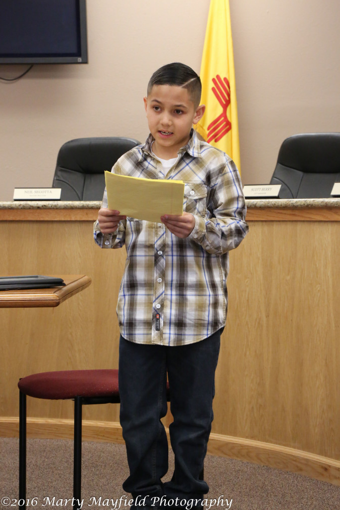 "Joshua Vargas said, ""he was just a 10-year old boy in the right place at the right time."""