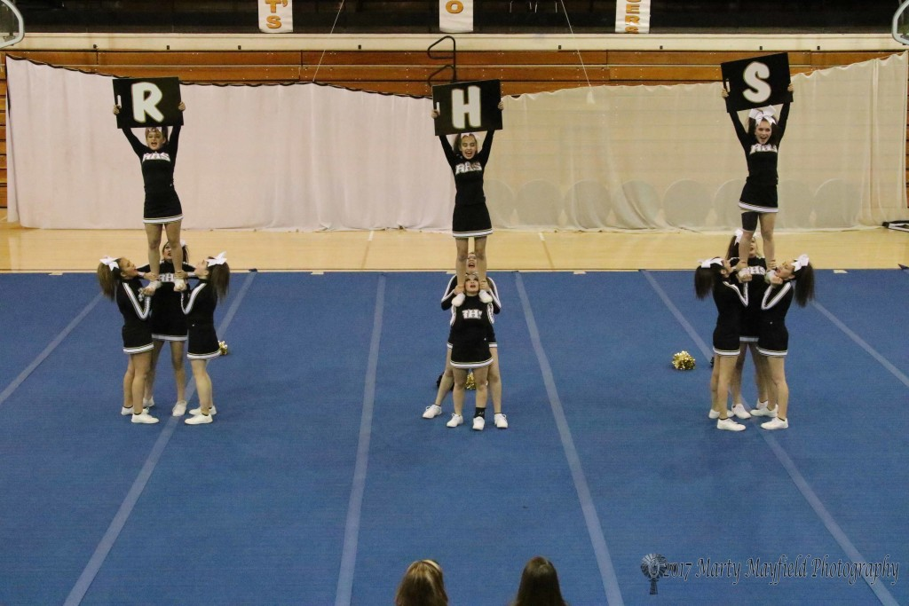 Second day routine for State Spirit Competition
