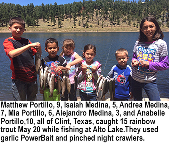New Mexico fishing and stocking report for May 23, 2017