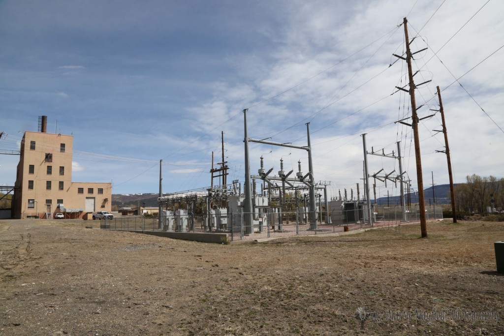 The main RPS substation is located near the old power plant. From here electricity is distributed to the different circuits in Raton.
