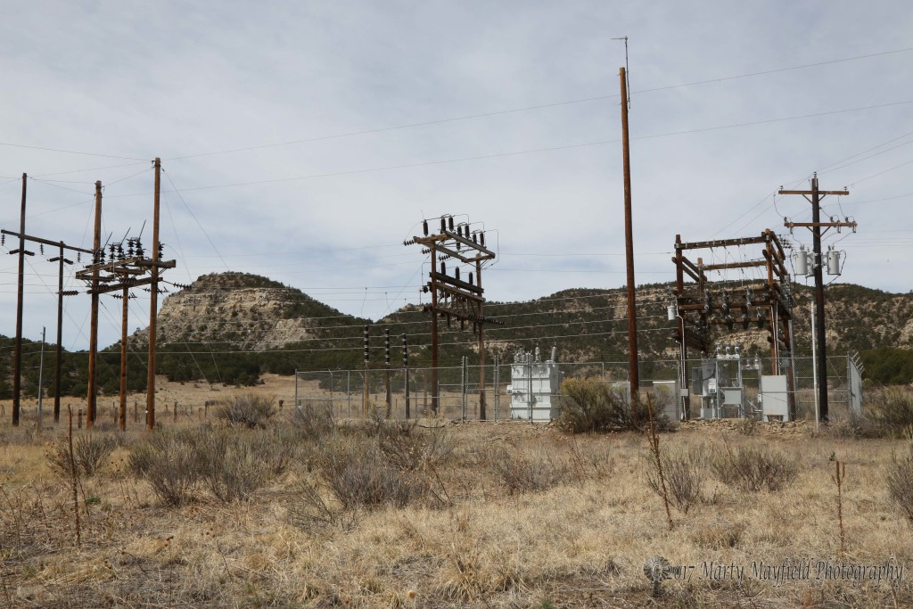 The Gardner Road Substation is where the switching from Burro Canyon and Springer Electric takes place.