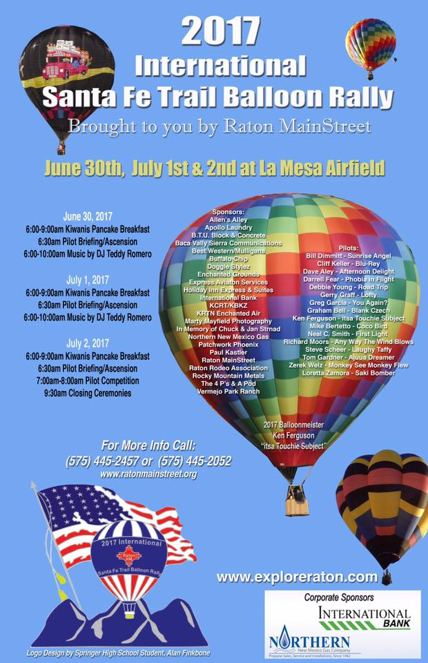 balloon rally 2017 poster