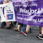 """Its all about the walk, as survivors take their first lap during the 2017 Relay for Life, a lap that began with the first lap """"In May 1985, Dr. Gordon """"Gordy"""" Klatt walked and ran for 24 hours around a track in Tacoma, Washington, raising money to help the American Cancer Society with the nation's biggest health concern: cancer."""""""