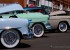 When was the last time you saw this kind of whitewall on a tire? These old cars found their way to the Run to Raton car show from Colorado.